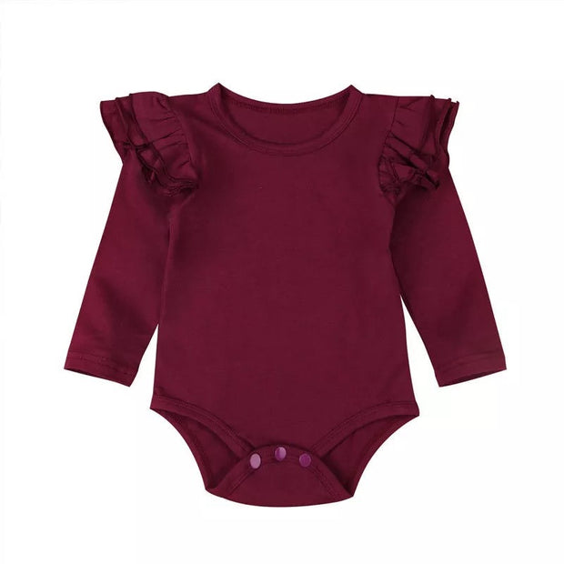 Flutter Onesie-  Burgundy - SEO Optimizer Test