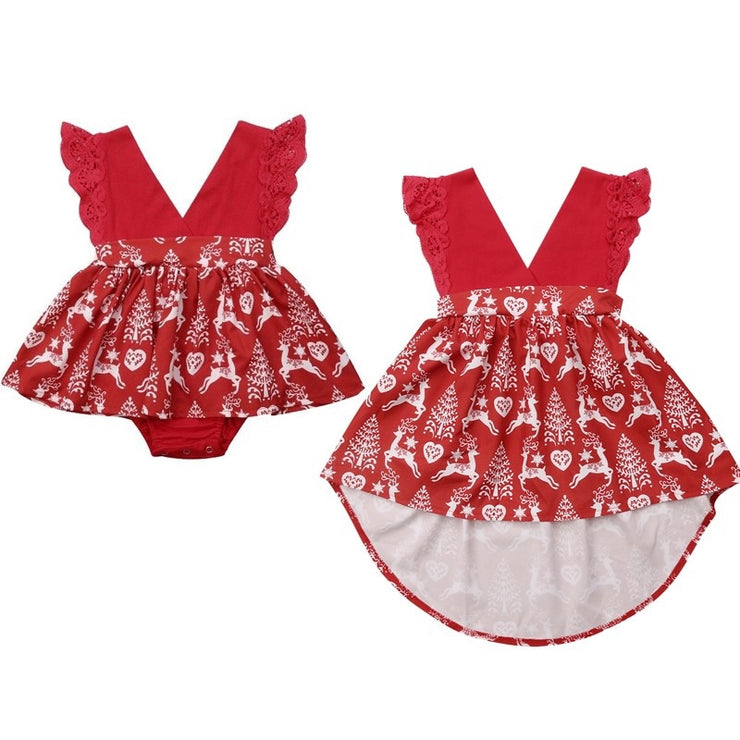 Sisters Reindeer Dress OR Romper - SEO Optimizer Test