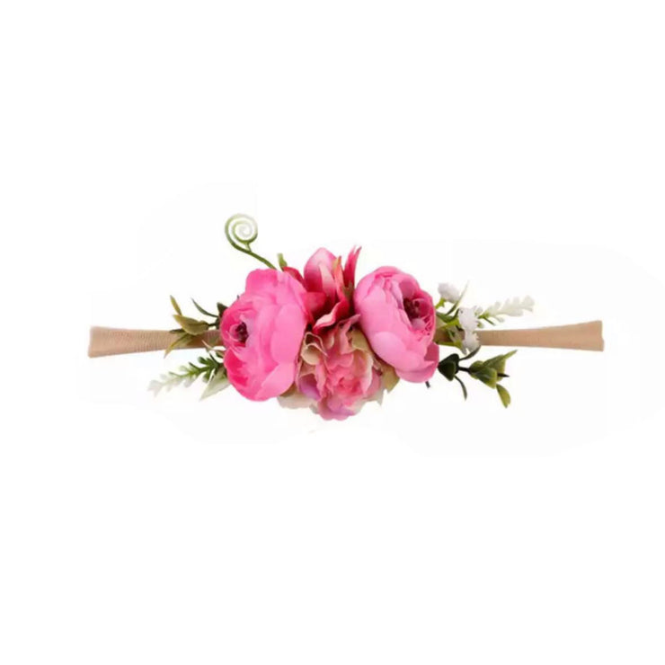 Blooming Zion Headband- Fancy Fuchsia