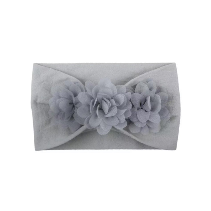 Mandy Flower Headband- Grey - SEO Optimizer Test