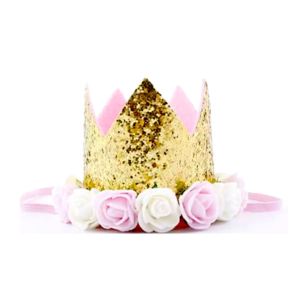 Ultimate Birthday Crown - Gold & Pink - SEO Optimizer Test
