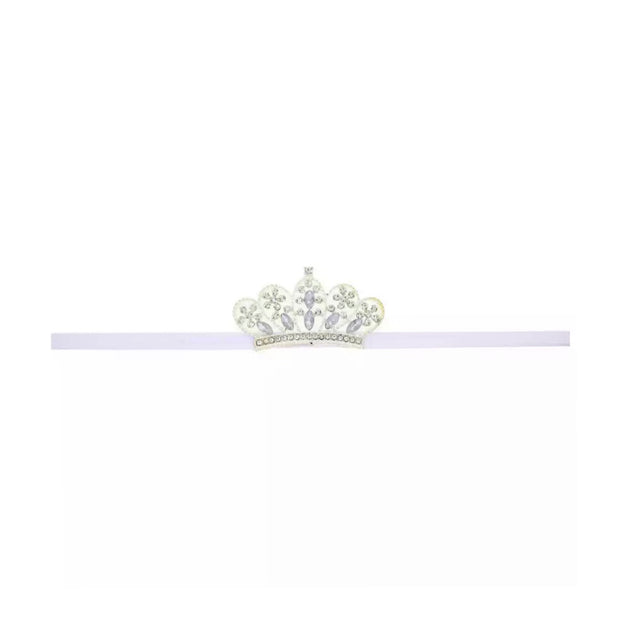 Tiara Headband- White