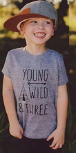 WILD, YOUNG & THREE Tee