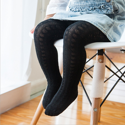 Heart Tights-Black