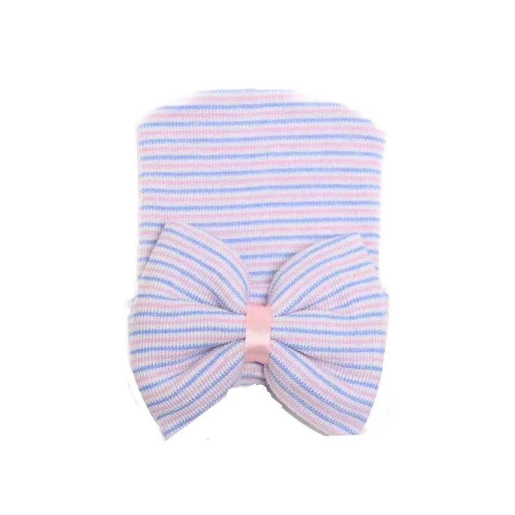 Baby BOW Beanie- Pink & Blue - SEO Optimizer Test