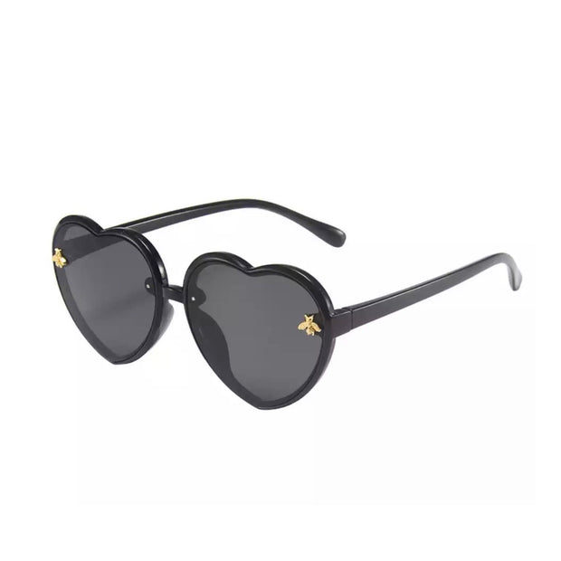 Bee Heart Sunnies- Black