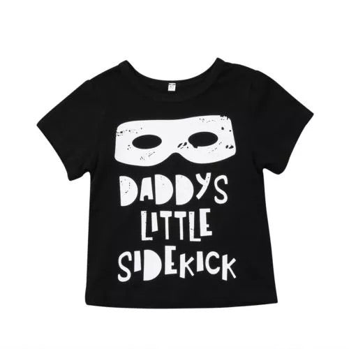 Daddy's Side Kick Tee - Bamboletta's Boutique