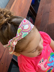 Rainbow Hearts Bunny Headband - SEO Optimizer Test