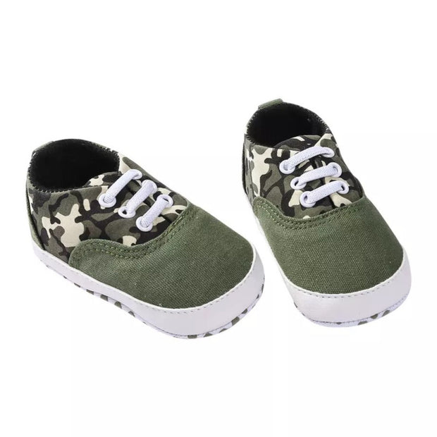 Jamie Sneakers- Camo Green