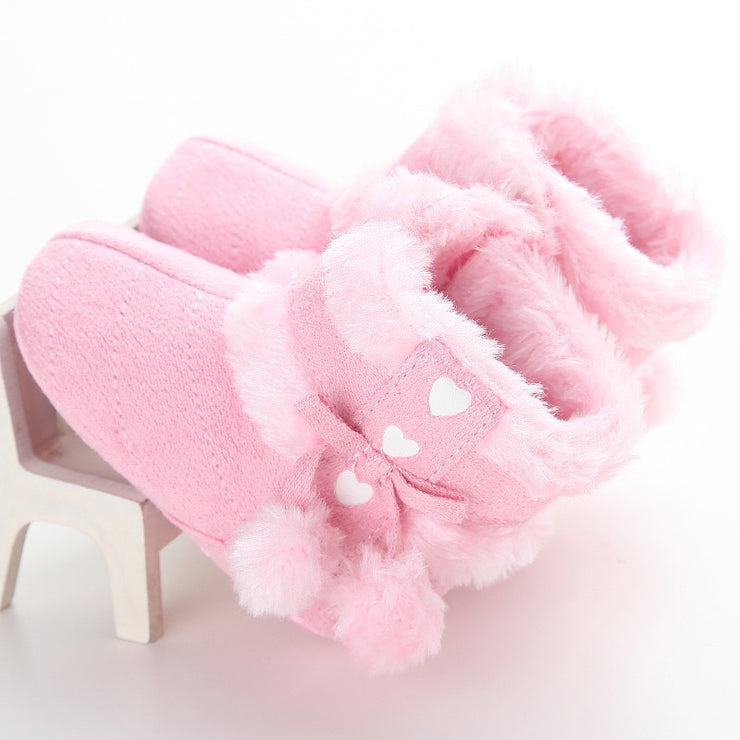 Pompom Boots - Baby Pink - SEO Optimizer Test