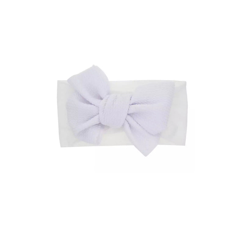 Zara Bow Headband- White - SEO Optimizer Test