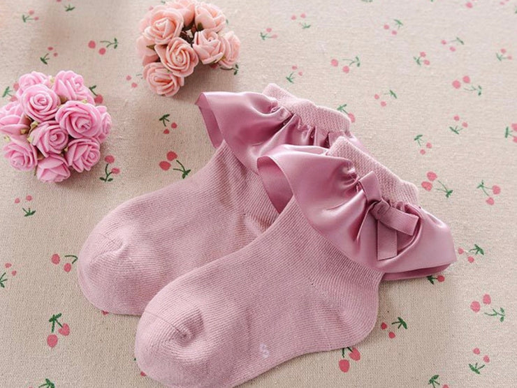 Toya Frilly Socks- Dark Pink - SEO Optimizer Test