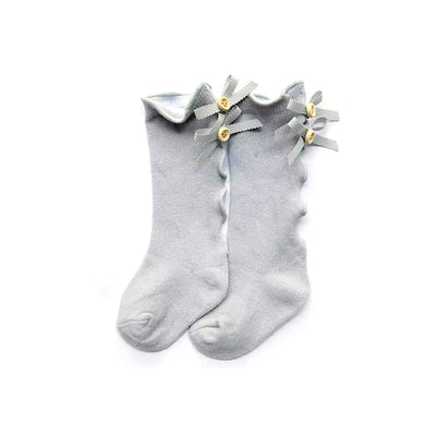 Sweetie Button Socks- Grey - SEO Optimizer Test