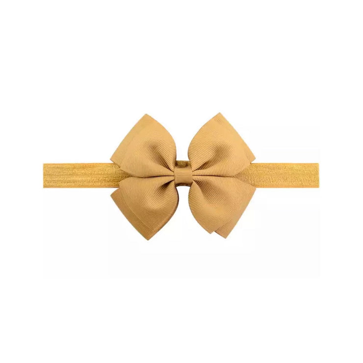 Basic Bow Headband- Caramel - SEO Optimizer Test