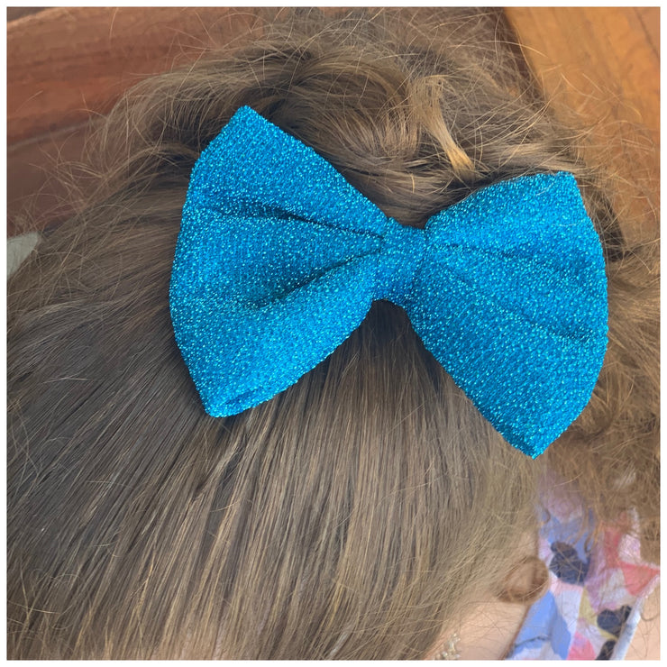 Zuri Hair Bow- Ocean Blue - SEO Optimizer Test