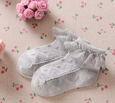 Baby Frill Socks-Grey - SEO Optimizer Test