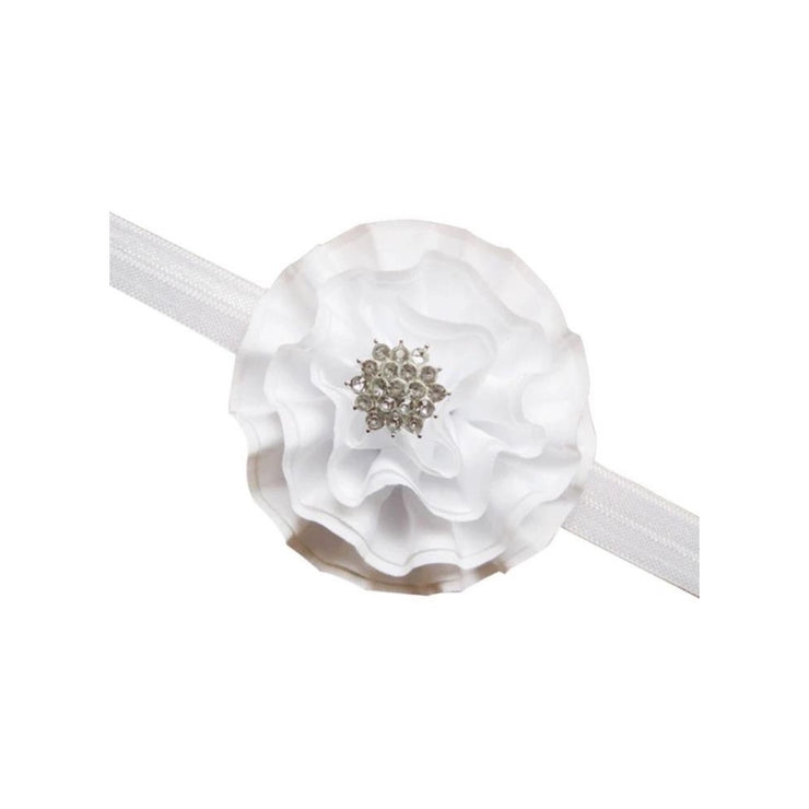Frills Headband- White - SEO Optimizer Test