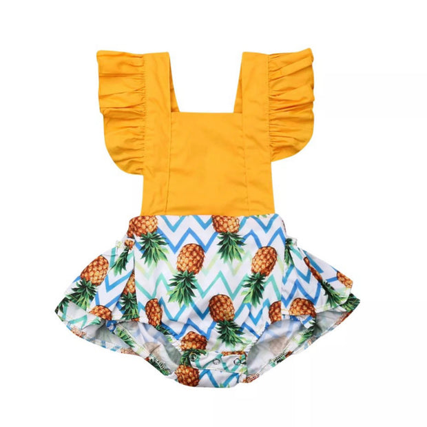 Allie Pineapple Onesie