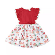 Aussie Xmas Dress Set OR Aussie Xmas Romper Set