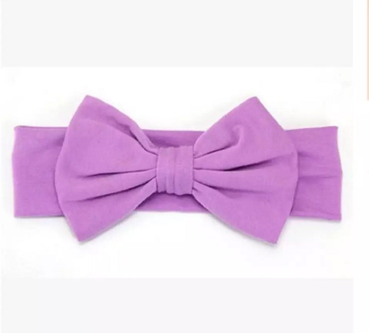 All that Bow Headband- Lilac - Bamboletta's Boutique