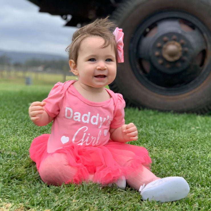Daddy's Girl Tutu Romper