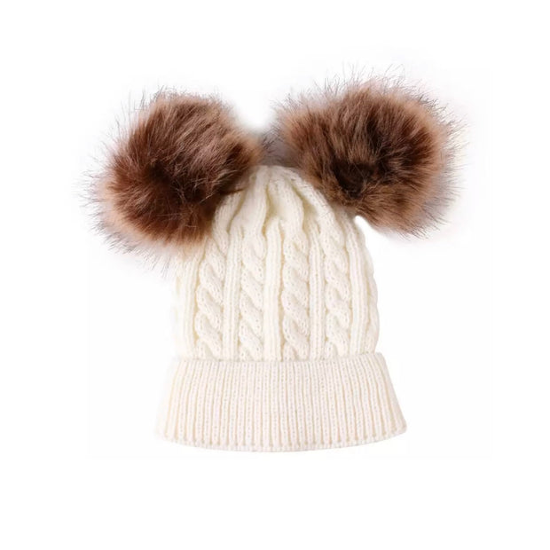 Lynn Pompom Beanie- White - SEO Optimizer Test