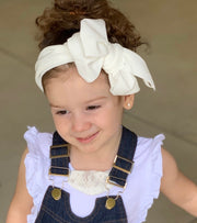 Natalia Bow Headband-White - SEO Optimizer Test