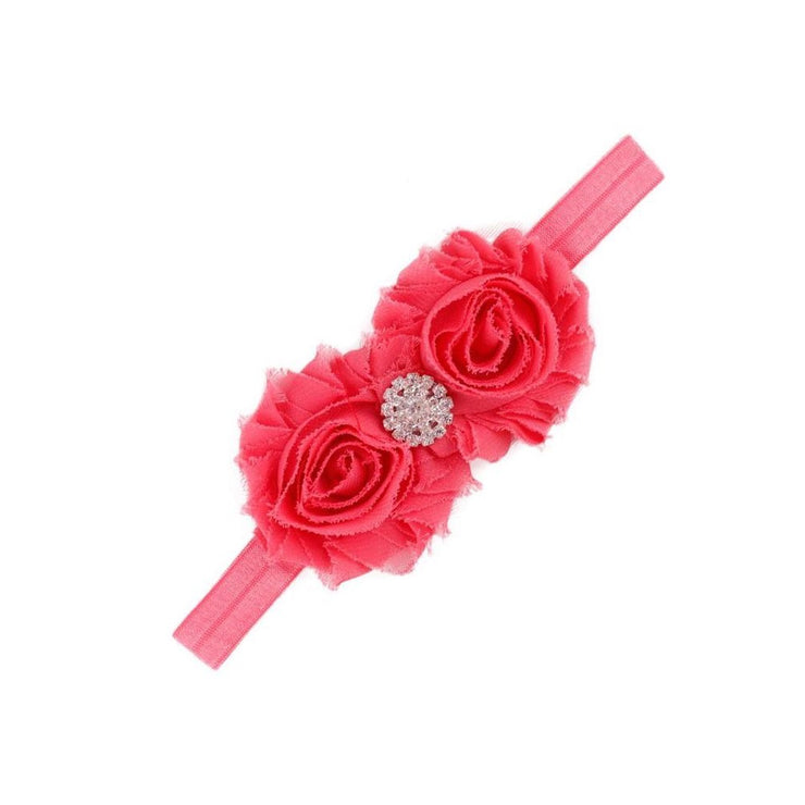 Bling Floret Headband-Coral - SEO Optimizer Test