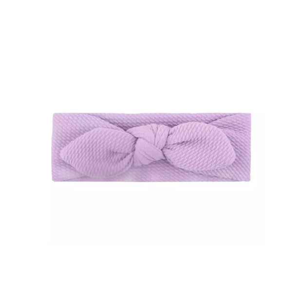 Wendy Bow Headband- Purple