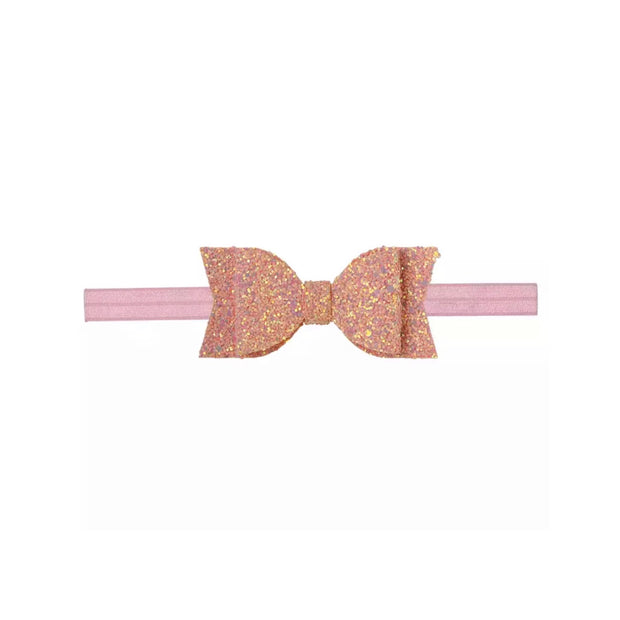 Britney Bow Headband- Coral Pink - SEO Optimizer Test