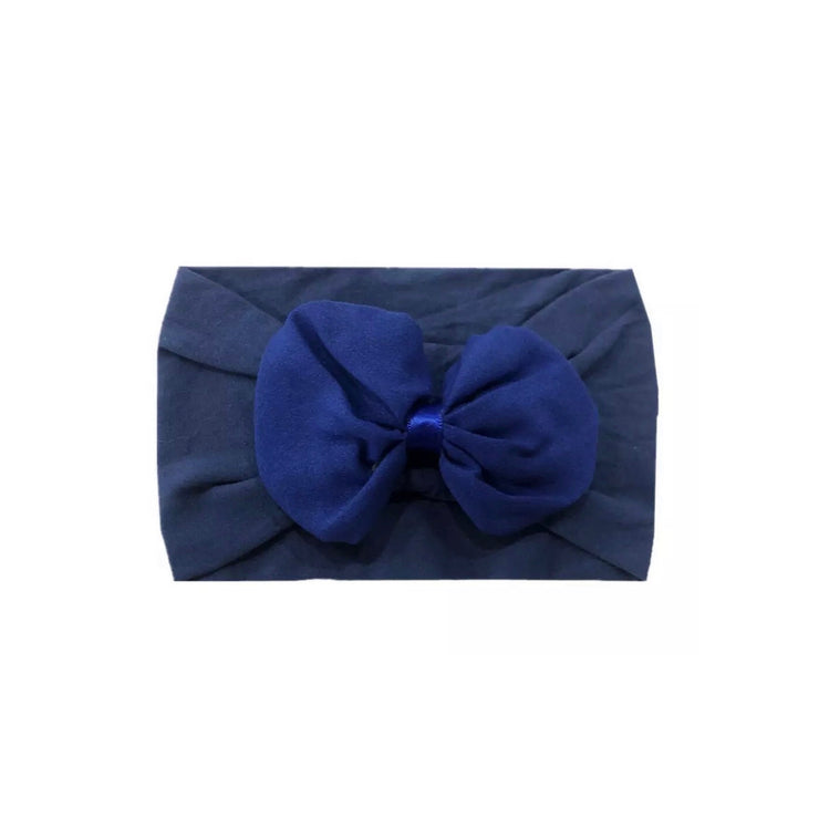 Billie Bow Headband-Blue - SEO Optimizer Test