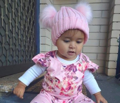 Baby Bear Beanie- Baby Pink - SEO Optimizer Test