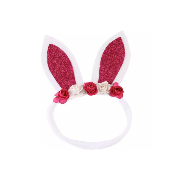 Bunny Headband - Rose Red - SEO Optimizer Test