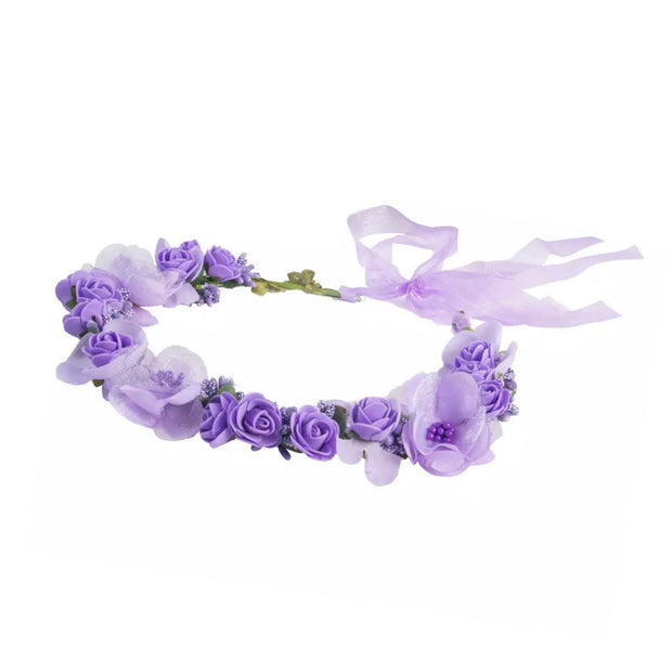 Roma Halo Crown - Lilac