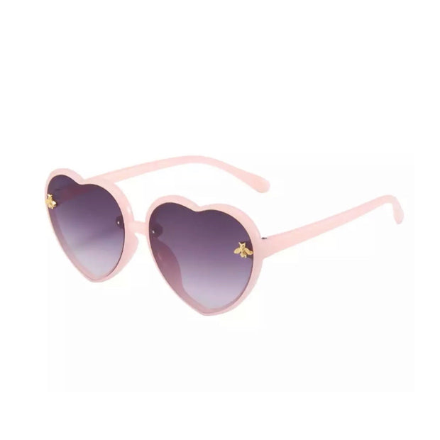 Bee Heart Sunnies- Pink