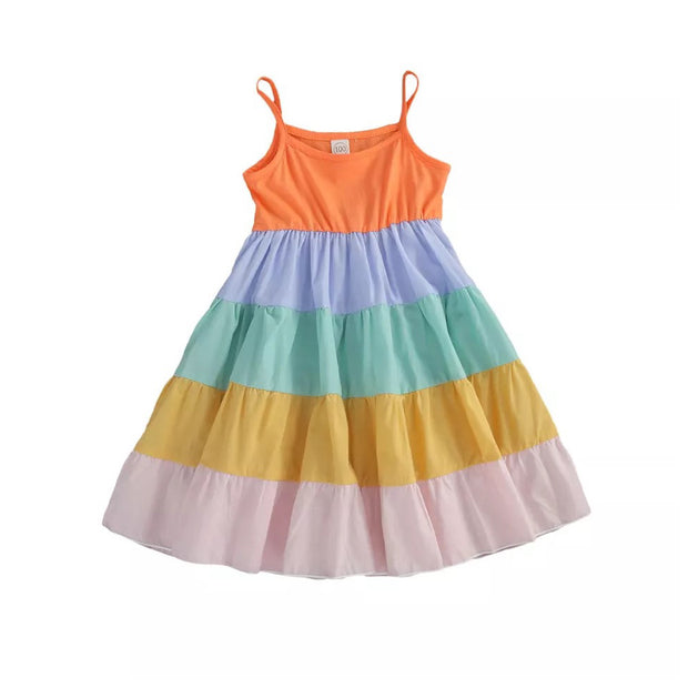 Kelli Rainbow Dress