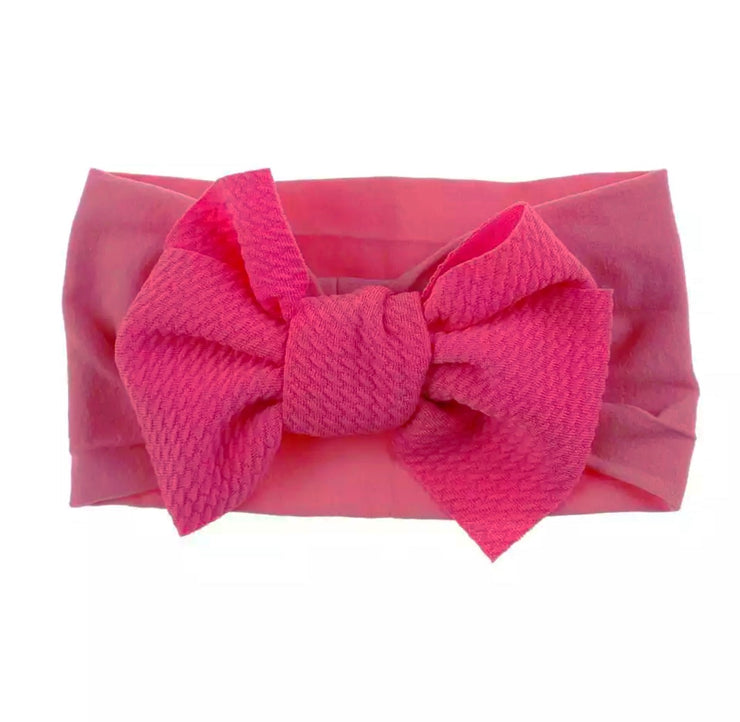 Zara Bow Headband-Bright Pink - SEO Optimizer Test