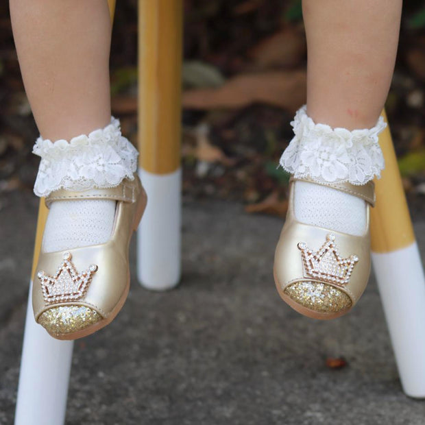 Princess Shoes- Gold