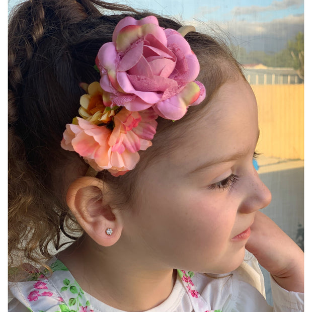 Blooming Zion Headband- Pastel Coral - SEO Optimizer Test