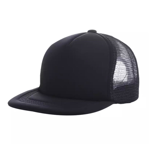 Kelsey Trucker Cap- Black