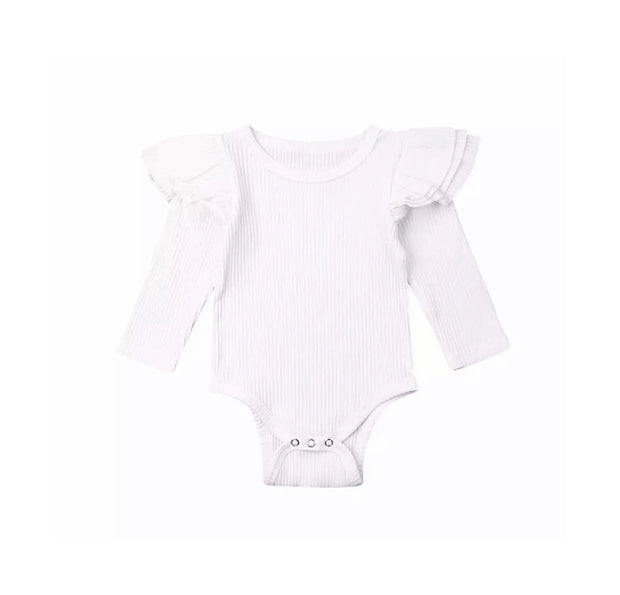 Luna Flutter Onesie - White - SEO Optimizer Test