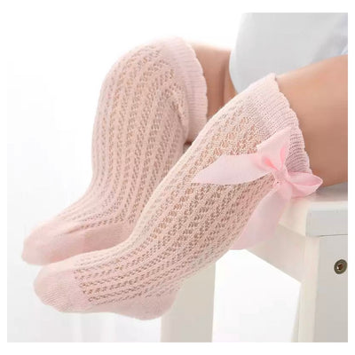 Candice Bow Socks- Pink - SEO Optimizer Test