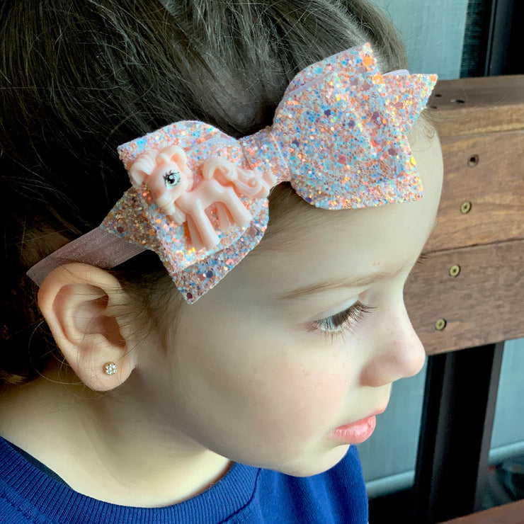 Pony Glitz Bow Headband - SEO Optimizer Test
