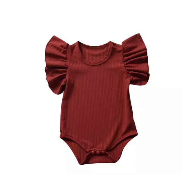 Riley Flutter Onesie- Marone - SEO Optimizer Test
