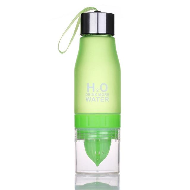H2O Fruit Infusion Water Bottle Green