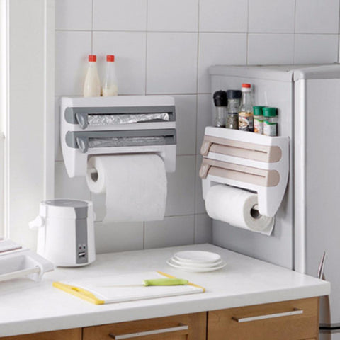 4 in 1 Kitchen Wrap Dispenser Trends Corner