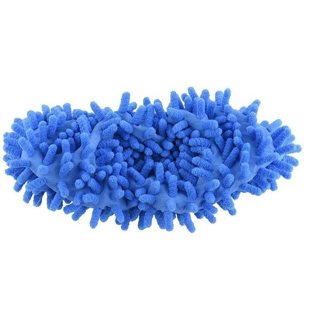 Blue Lazy Mop Slippers