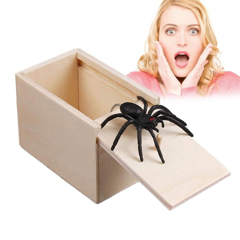 Wooden Prank Box