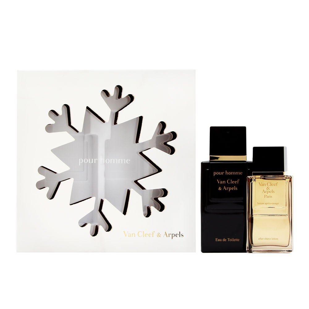 Van Cleef Pour Homme by Van Cleef & Arpels 2 Piece Set Incudes: 3.3 oz Eau de Toilette Spray + 1.6 oz After Shave Pour