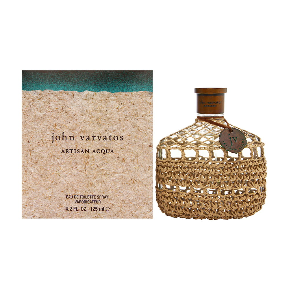 John Varvatos Artisan Acqua for Men 4.2 oz Eau de Toilette Spray
